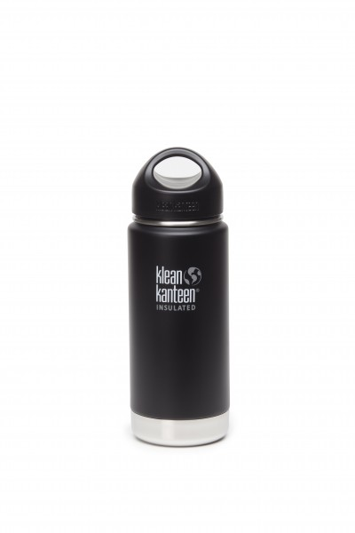Klean Kanteen Flasche 'Insulated' matt schwarz, 0,473 L