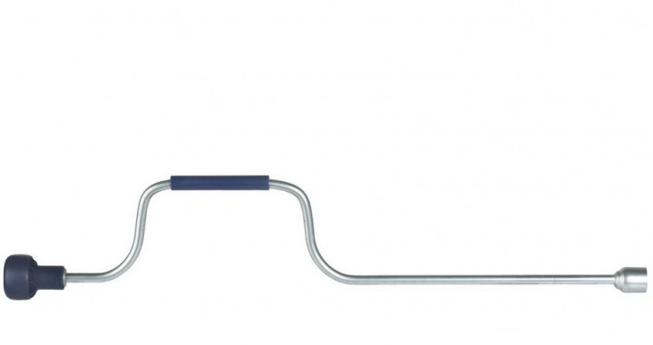 Handkurbel Standard 700 mm für Kurbelstützen