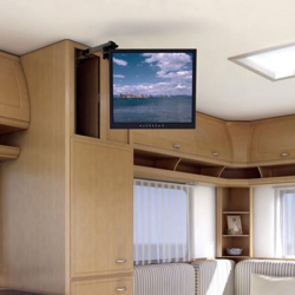 Auszugssystem MEDIO-V, hängend für TFT-Flachfernsehgeräte