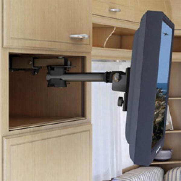 Auszugssystem MEDIO-W, liegend für TFT-Flachfernsehgeräte