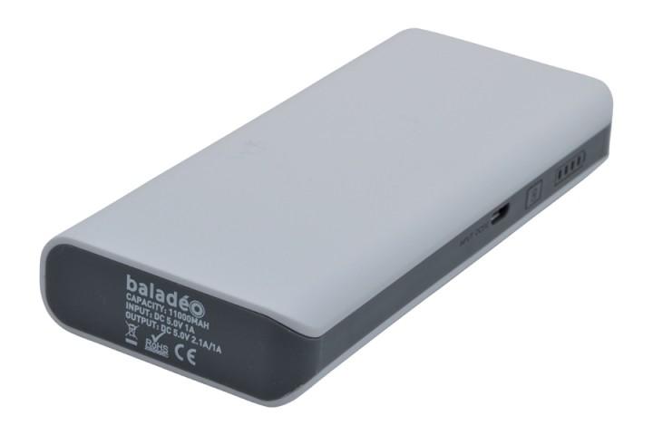 baladéo Powerbank 'Nomade' S 11000