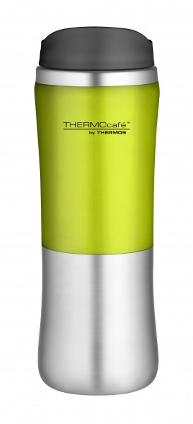Thermos ThermoCafe 'Brilliant Mug' Isolierbecher 0,35 L, lime