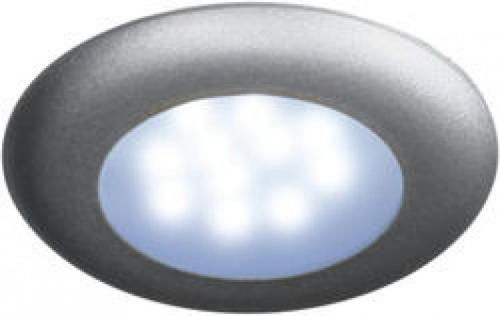 LED Einbauspot Nova mattsilber ohne Schalter 12 Volt