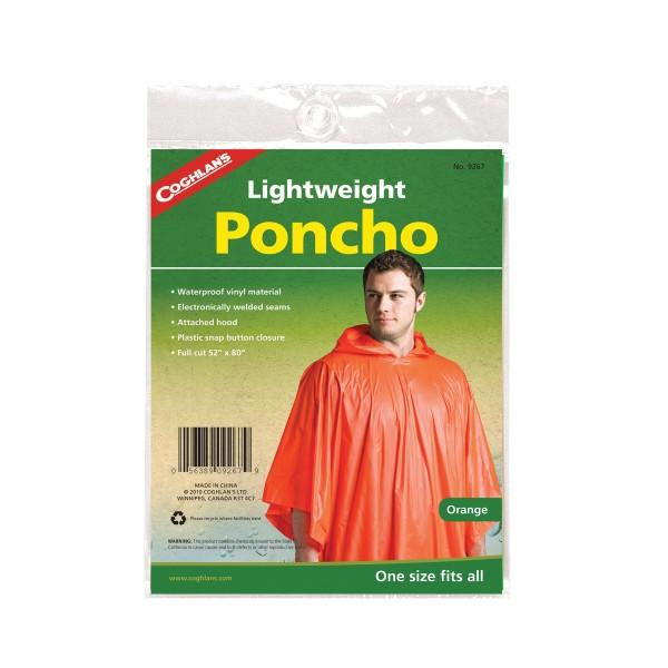 Coghlans Leichtponcho orange