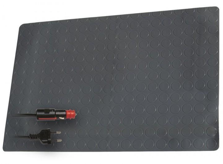 Pro Car PVC-Heizmatte 230 Volt 60 x 40 cm grau