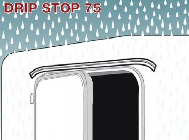 Mini Regenrinne Drip Stop 75 cm lang