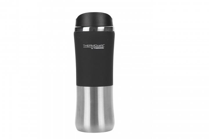 Thermos ThermoCafe 'Brilliant Mug' Isolierbecher 0,35 L, schwarz