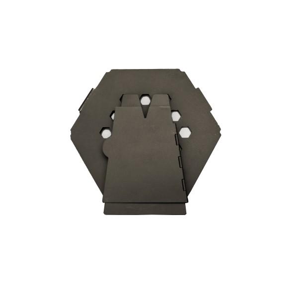 Vargo 'Hexagon' Edelstahl Holzofen