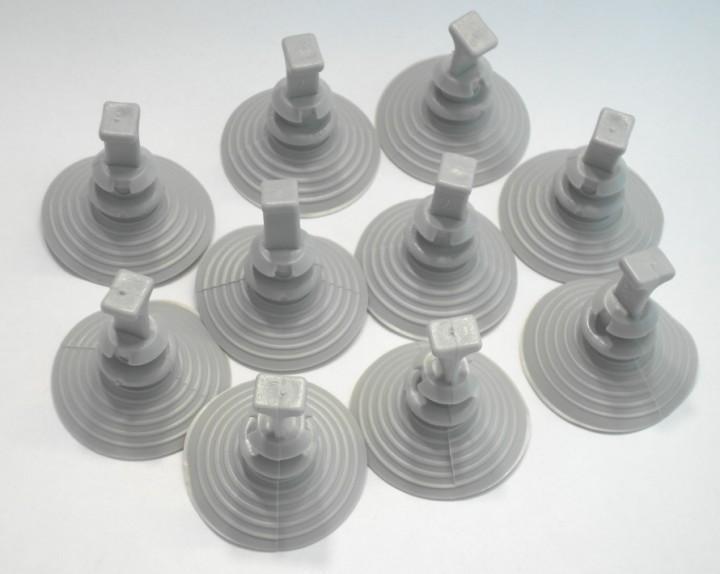 Saugnäpfe für Thermomatten