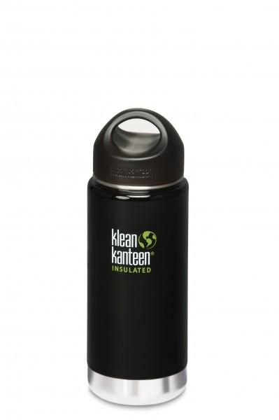 Klean Kanteen Flasche 'Insulated' schwarz, 0,473 L