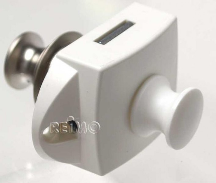 Push-Lock beidseitig betätigbar silber