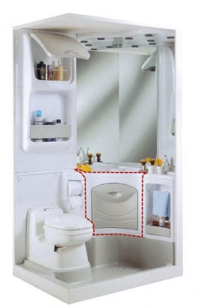 Unterschrank für Waschbecken für Sanitäreinrichtung 2000