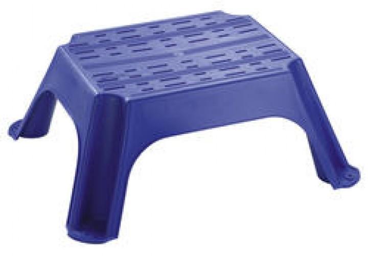 Trittstufe Kunststoff 660 x 560 x 250 mm blau