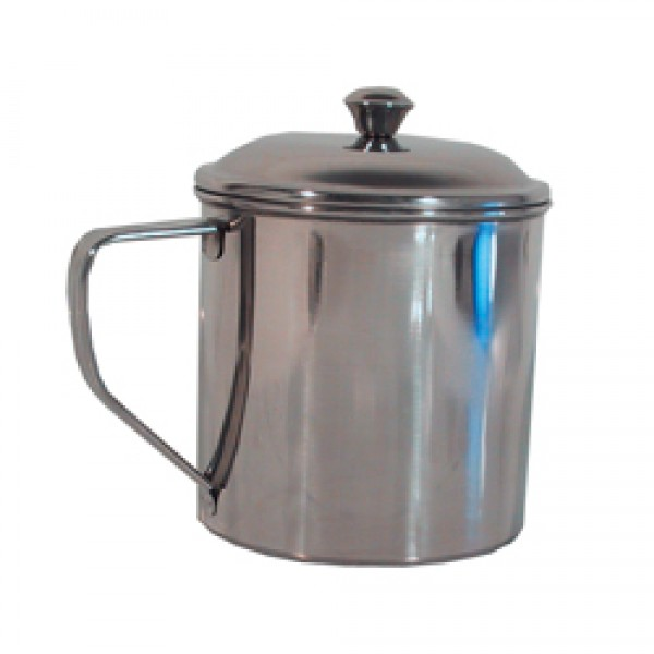 Tasse 0,6 Liter Edelstahl