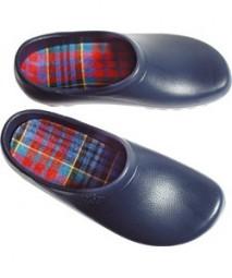 Herren-Clogs Größe 45 blau