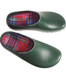 Herren-Clogs Größe 45 grün