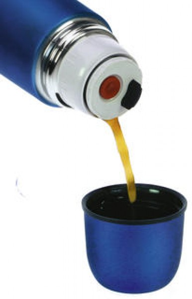 LaPlaya Thermoflasche Universum kupfer 1 Liter