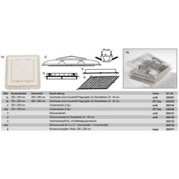 Rahmenunterteil für Dachstärken 24 – 50 mm