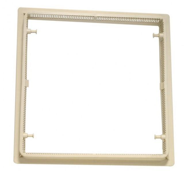 Hartal Rahmen-Oberteil weiß für Dachhaube 40x40 cm