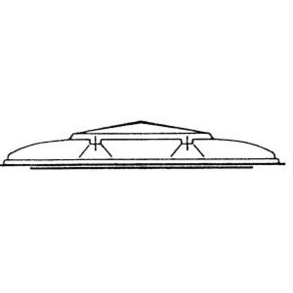 Dachhaubengriff kpl. (mit Befestigungsmaterial)