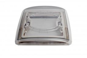 MPK Dachhaube VisionVent 40 x 40 cm mit Innenrahmen weiß