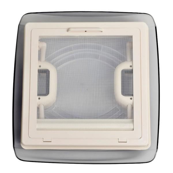 MPK Dachhaube VisionVent S eco 28 x 28 cm mit Innenrahmen weiß