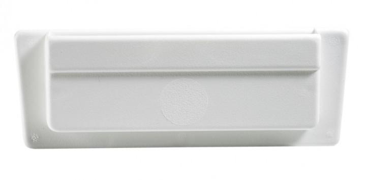 Seitenwandlüfter ca. 200 x 80 mm weiß