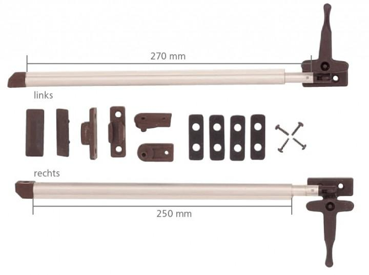 Fenster-Aussteller links Automatik mit Verschluss