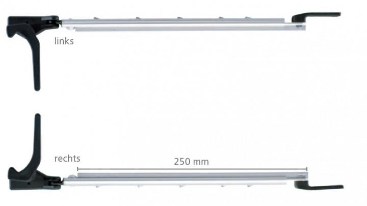 Polyplastic Polyfix Fenster Rohraussteller rechts 300 mm