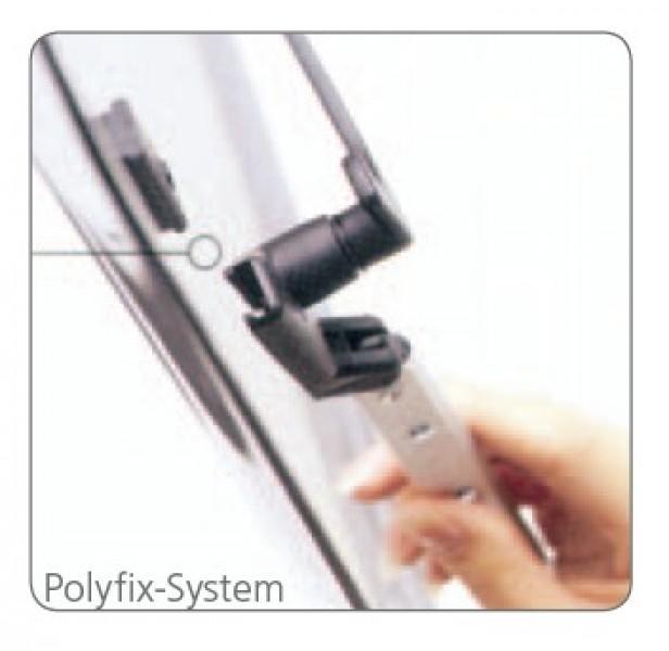Polyplastic Polyfix Fenster Rohraussteller links 140 mm stufenlos
