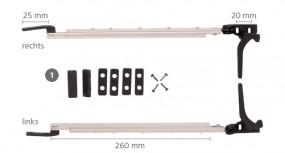 Polyplastic Fensteraussteller 300 mm rechts