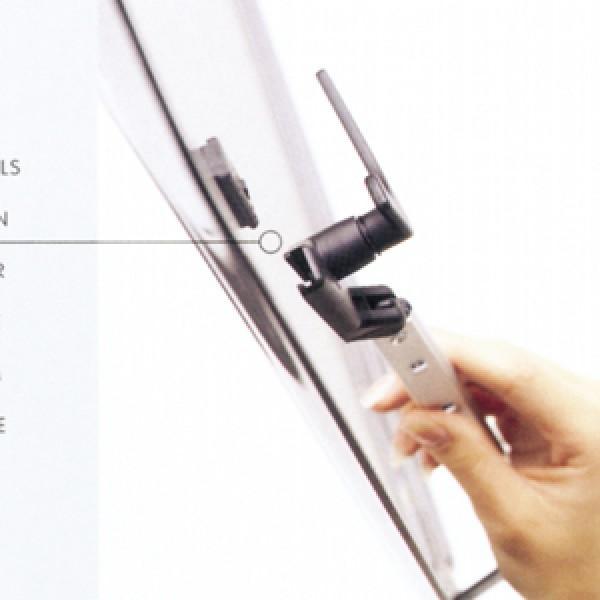 Polyplastic Polyfix Fenster Rohraussteller rechts 200 mm