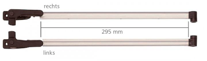 Klick-Klack-Aussteller 29,5 cm für S3 und S4 Fenster VAM 700