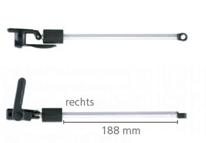 Drehaussteller 550-580 mm für S-3 und S-4 Ausstellfenster