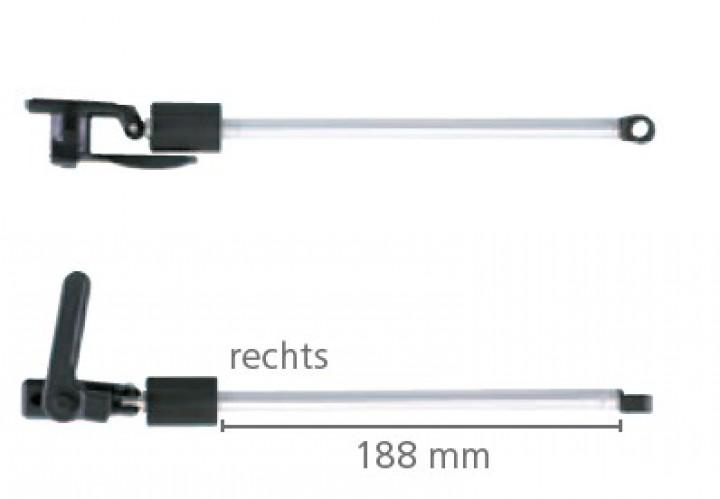 Dometic Seitz Drehaussteller links 550/580 mm für S3 und S4 Ausstellfenster
