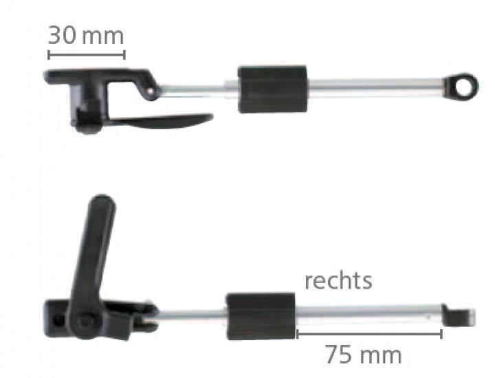 Dometic Seitz Drehaussteller rechts 400 mm für S3 und S4 Ausstellfenster