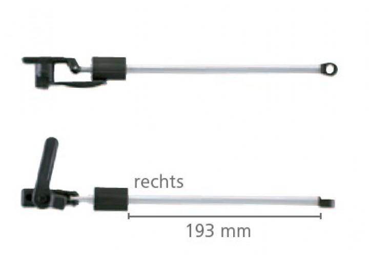Dometic Seitz Drehaussteller rechts 600 mm für S3 und S4 Ausstellfenster