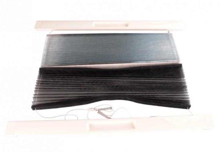 Rollosystem komplett mit Verdunklung und Fliegenschutz für MIDI-HEKI