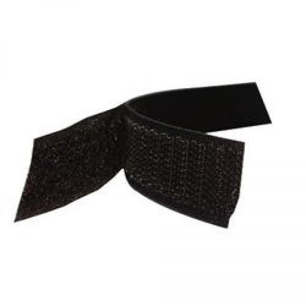 Klettband selbstklebend schwarz