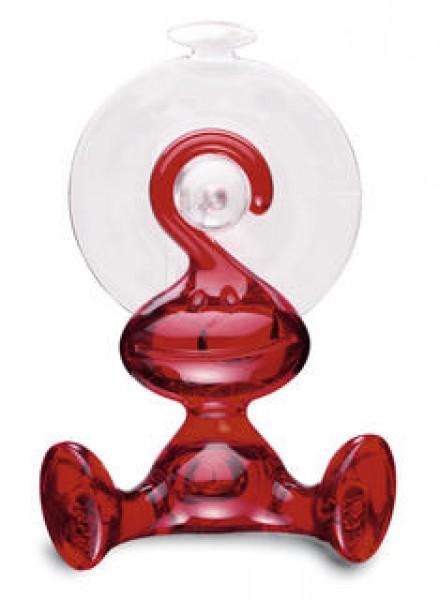 Koziol Wandhaken Moritz transparent rot