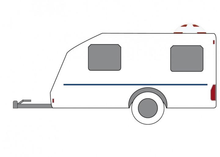Funkalarmanlage für Wohnwagen C.A.S. II 868
