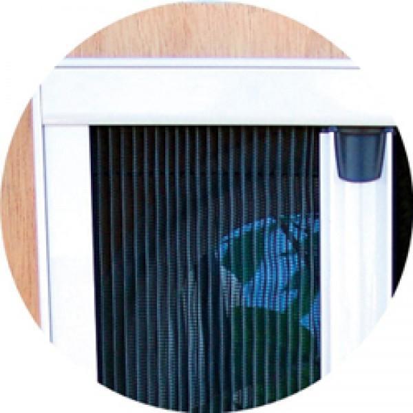 Plissee Fliegenschutztür 1750 x 650 mm