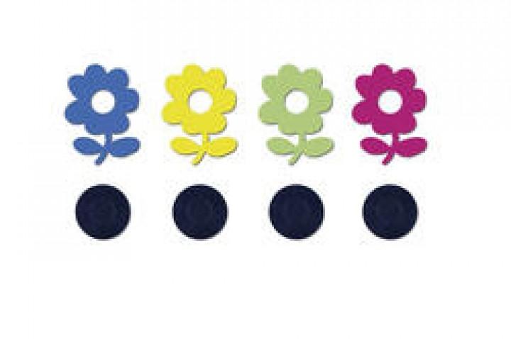 Tischtuchbeschwerer Magnet Blumen