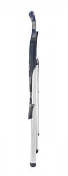 Crespo Klappsessel Luxus AL/238 XXL blau-grau