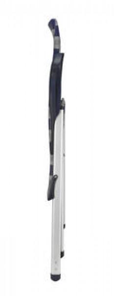 Crespo Klappsessel Luxus AL/237 Plus blau-grau