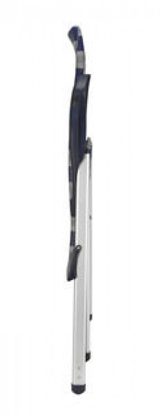 Crespo Klappsessel Luxus AL/237 Plus dunkelblau