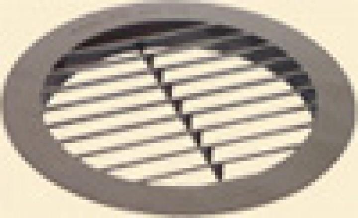 Umluft-Ansauggitter rund für Klimaanlagen Saphir