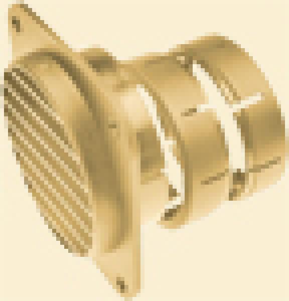 Schwenkdüse SCW 2, beige für Klimaanlagen Saphir