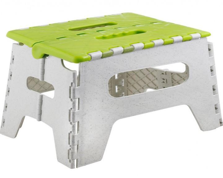 Brunner Klapptrittstufe Plyer grau grün