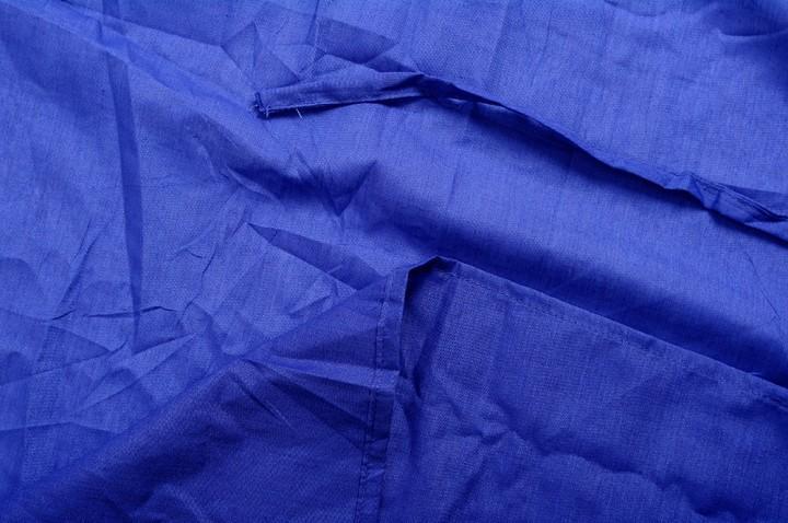Basic Nature Mischgewebe Inlett Mumienform royalblau